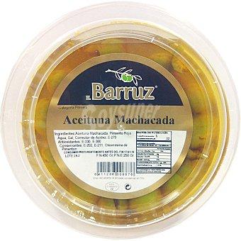 Barruz Aceituna machada Envase 250 g neto escurrido