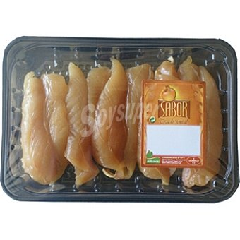 SABOR Solomillo de pollo peso aproximado Bandeja 300 g
