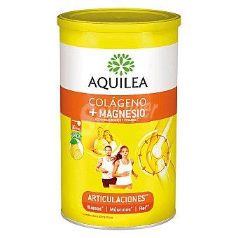 Aquilea Colágeno y magnesio con ácido hialurónico y vitamina C sabor limón Bote 375 g