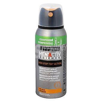 Les Cosmétiques Desodorante antitranspirante 72h -menactiv' 100 ml