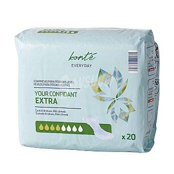 Bonté Compresa de incontinencia extra Paquete 20 ud