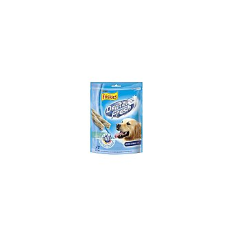 Friskies Purina Sticks de higiene dental Dental Fresh para perros de razas medias y grandes +10 kg  Paquete 180 g