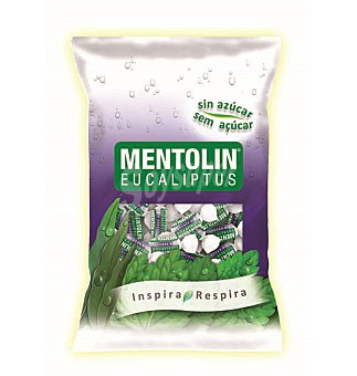 Mentolín Caramelos eucalipto sin azucar 115 G
