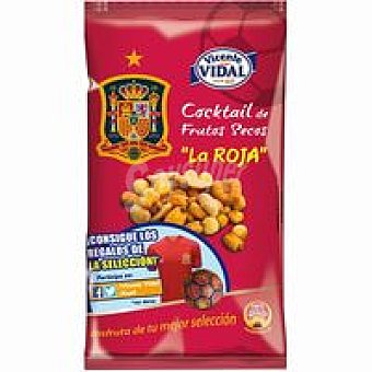 Vicente Vidal Cocktail de frutos secos La Roja bolsa 130 g