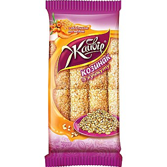 Jayvir Barritas de cereales con sésamo Envase 60 g