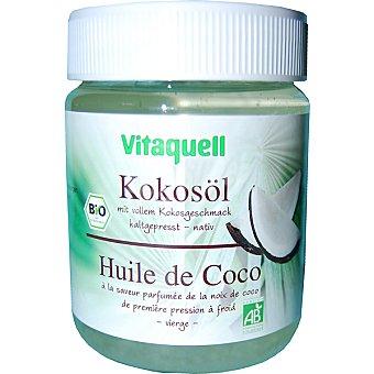Vitaqell aceite de coco primera presión en frio ecológico  envase 200 g