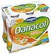 Para beber sabor tropical 6 unidades Danacol Danone