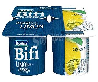Kaiku Bifi Bífidus con sabor a limón 4 x 125 g