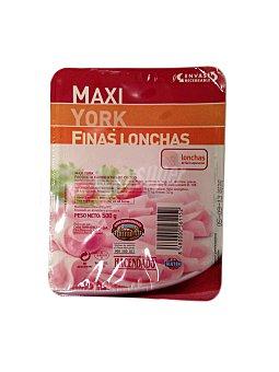 Hacendado Fiambre cocido lonchas finas maxi Paquete 500 g