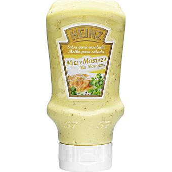 Heinz Salsa de miel-mostaza Bote 400 g
