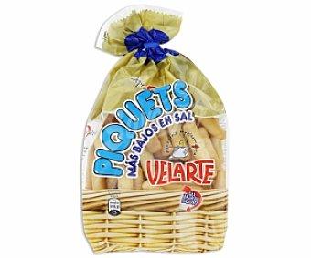 Velarte Picos de pan crujientes bajos en sal 250 Gramos