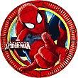 Plato decorado redondo 23 cm paquete 8 unidades Paquete 8 unidades Spiderman