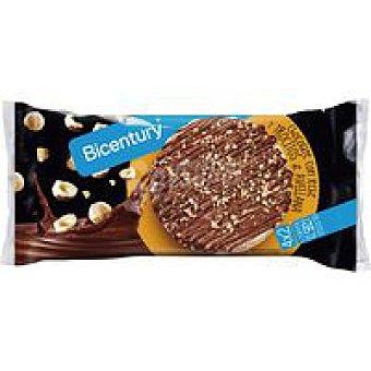 Bicentury Tortitas de arroz-chocolate-avellana Paquete 141,6 g