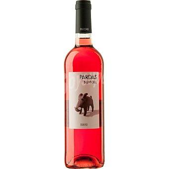 PARDAS Vino rosado D.O. Penedés Sumoll botella de 75 cl