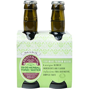 FENTIMANS 19:05 HERBAL tónica  pack 4 botellas 20 cl