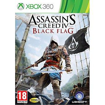 XBOX 360 Videojuego Assasin's Creed IV Black Flag  1 unidad