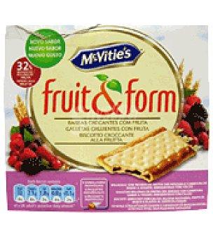 McVities Galletas crujientes con fruta fruit&form 213 g