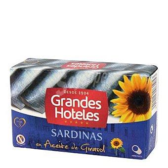 Grandes hoteles Sardinas en aceite vegetal 88 g