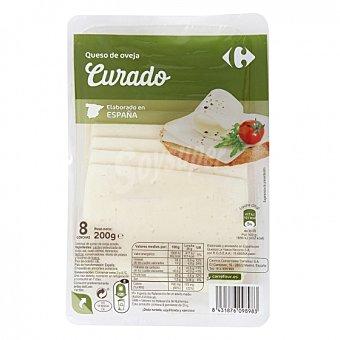 Carrefour Queso en lonchas de oveja Carrefour 200 g