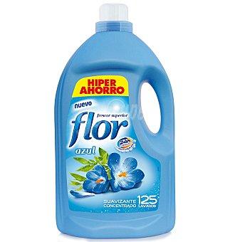 Flor Suavizante concentrado azul formato ahorro Botella 144 dosis