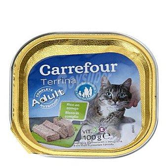 Carrefour Delicias para gatos de conejo 100 gr