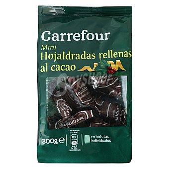 Carrefour Hojaldradas rellenas al cacao 300 g
