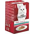 Mon petit alimento para gatos con atún/salmón/trucha caja  6 x 50 gr Gourmet