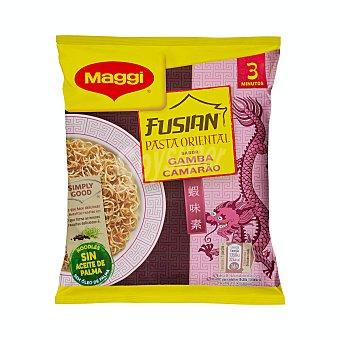 Maggi Pasta Oriental sobre (preparado alimenticio de harina de trigo) sabor gambas Fusian 71 g