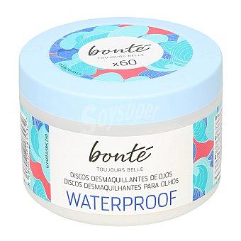 Bonté Discos desmaquillantes de ojos waterproof Bote 60 u