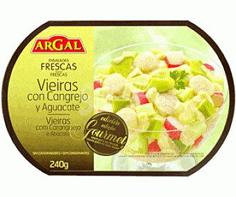 Argal Ensalada de Vieiras Con Cangrejo y Aguacate 240g