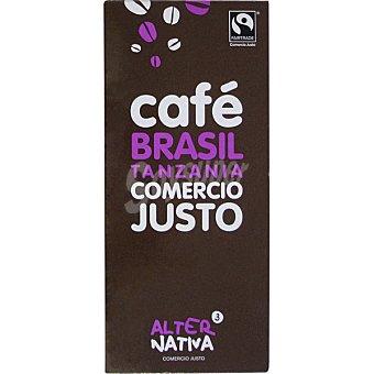 Alternativa 3 Café natural molido Brasil Tanzania Paquete 250 g