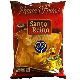 Santo Reino Patatas fritas sin sal Bolsa 250 g