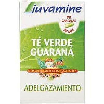 Juvamine Té verde-guarana en comprimidos Caja 90 unid