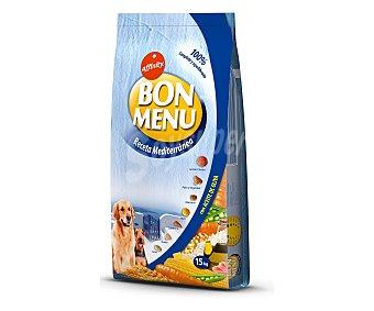 Affinity Comida seca para perros croquetas receta mediterránea Bolsa 15 kg