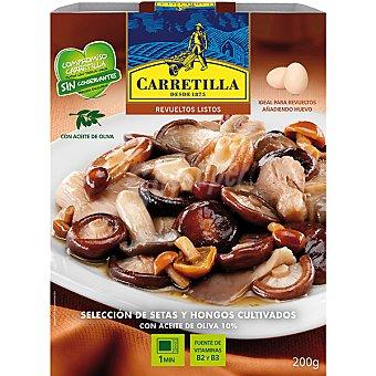Carretilla Revuelto de setas y hongos cultivados Estuche 250 g