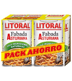 Litoral Fabada Pack 2x435 g