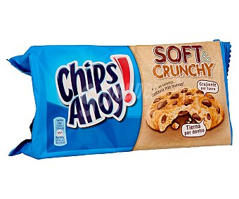 Chips Ahoy Galletas Soft & Crunchy Caja de 182 g