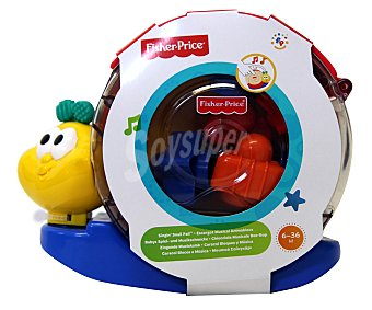 FISHER PRICE Caracol Musical con Bloque Encajables y Apilables 1 Unidad