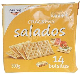 GALBUSERA Cracker pan salado 14 BOLSITAS - 500 g