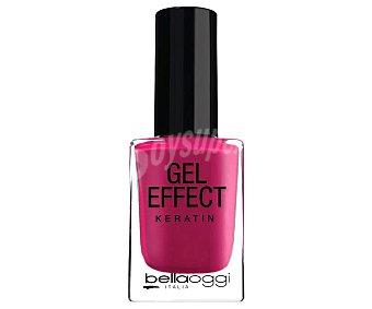 BELLAOGGI GEL EFFECT Esmalte de uñas efecto gel, tono 004 Wine Gel effect.