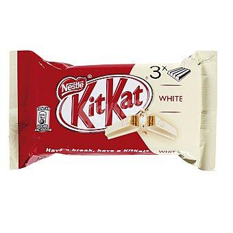 Kit Kat Nestlé Chocolatina barrita kit kat blanco Pack 3 u - 135 g