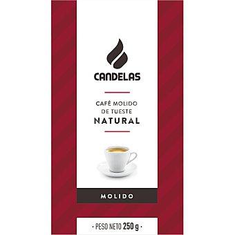 Candelas Café natural molido Paquete 250 g