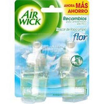 Air Wick Ambientador duplo eléctrico Flor 1 unid