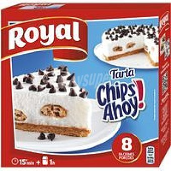 Royal Pastel Chips Ahoy Caja 240 g