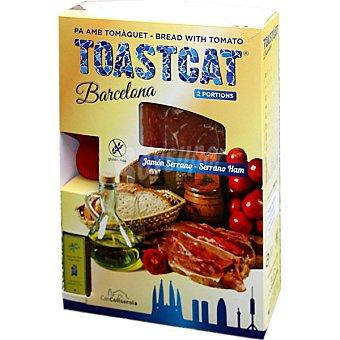 Toastcat pa amb tomaquet estuche 2 unidades