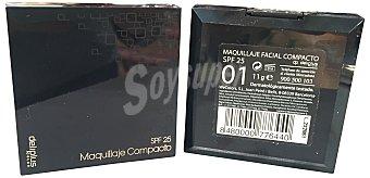 Deliplus Maquillaje compacto Nº 01 1 unidad
