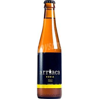 ARRIACA Cerveza rubia de Castilla la Mancha botella 33 cl Botella 33 cl