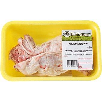 Manzano Manitas de cerdo Bandeja 300 g peso aprox