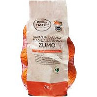 Natur Naranja para zumo Eroski Malla 2 kg