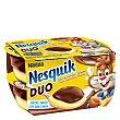 Postre Nesquik duo cacao y vainilla Pack 4x70 g Nestlé
